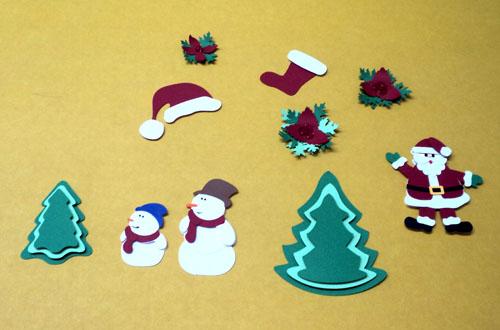 Apliques de Natal para Scrapbook