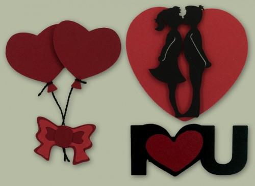 Apliques para o dia dos Namorados
