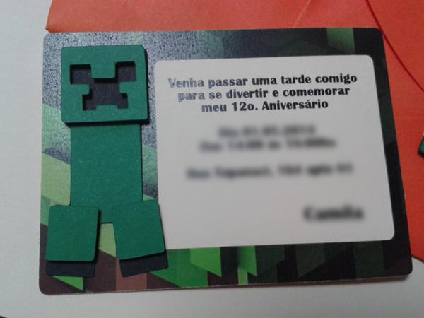 Festa Minecraft