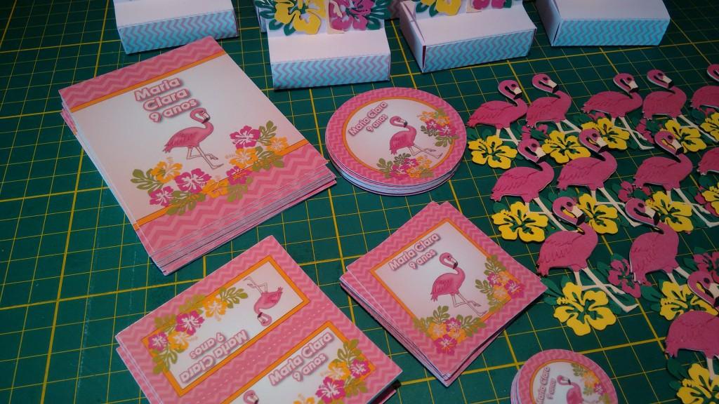 Festa flamingo tropical